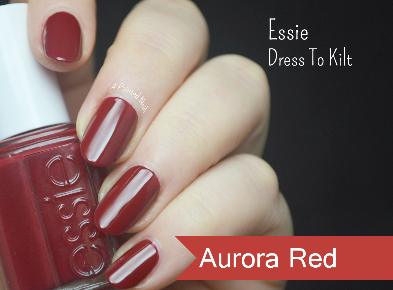 A Painted Nail: Essie Dress To Kilt Fall/Winter 2014 Color