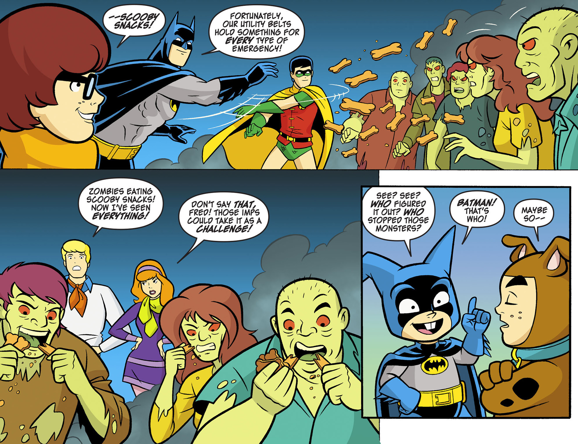 Read online Scooby-Doo! Team-Up comic -  Issue #6 - 12
