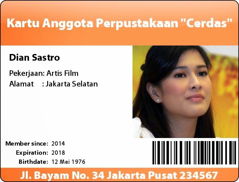 Contoh  ID Card Online Gratis 2