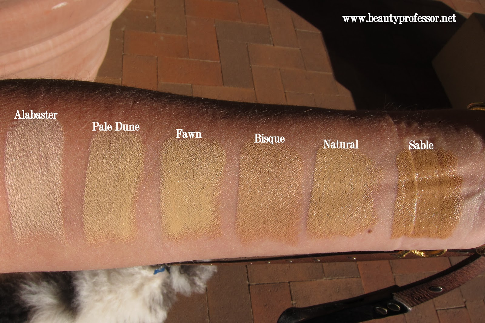 Fashion Fair Foundation Swatches Traceless Foundation Stick
