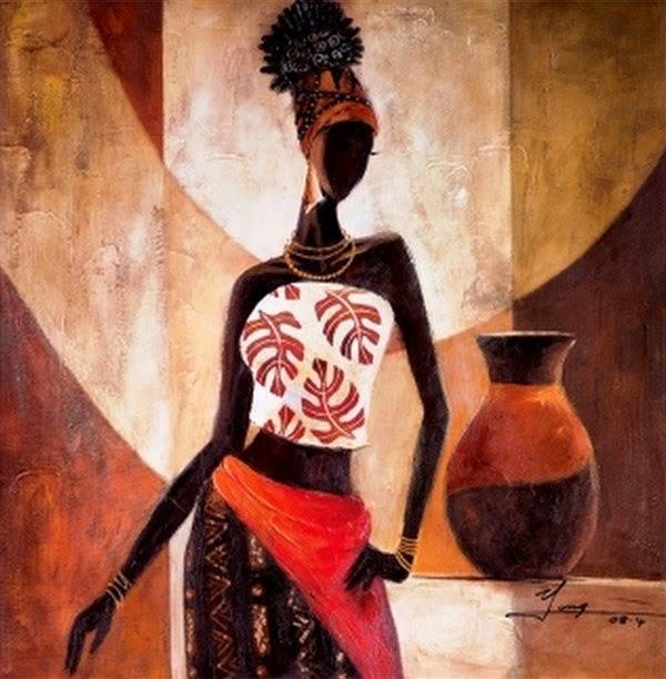 negritas bonitas cuadros africanos decorativos tnicos bonitos cuadros de negras como ejemplo para pintar