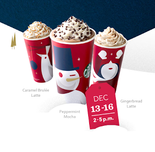 Holiday Drinks Starbucks Menu