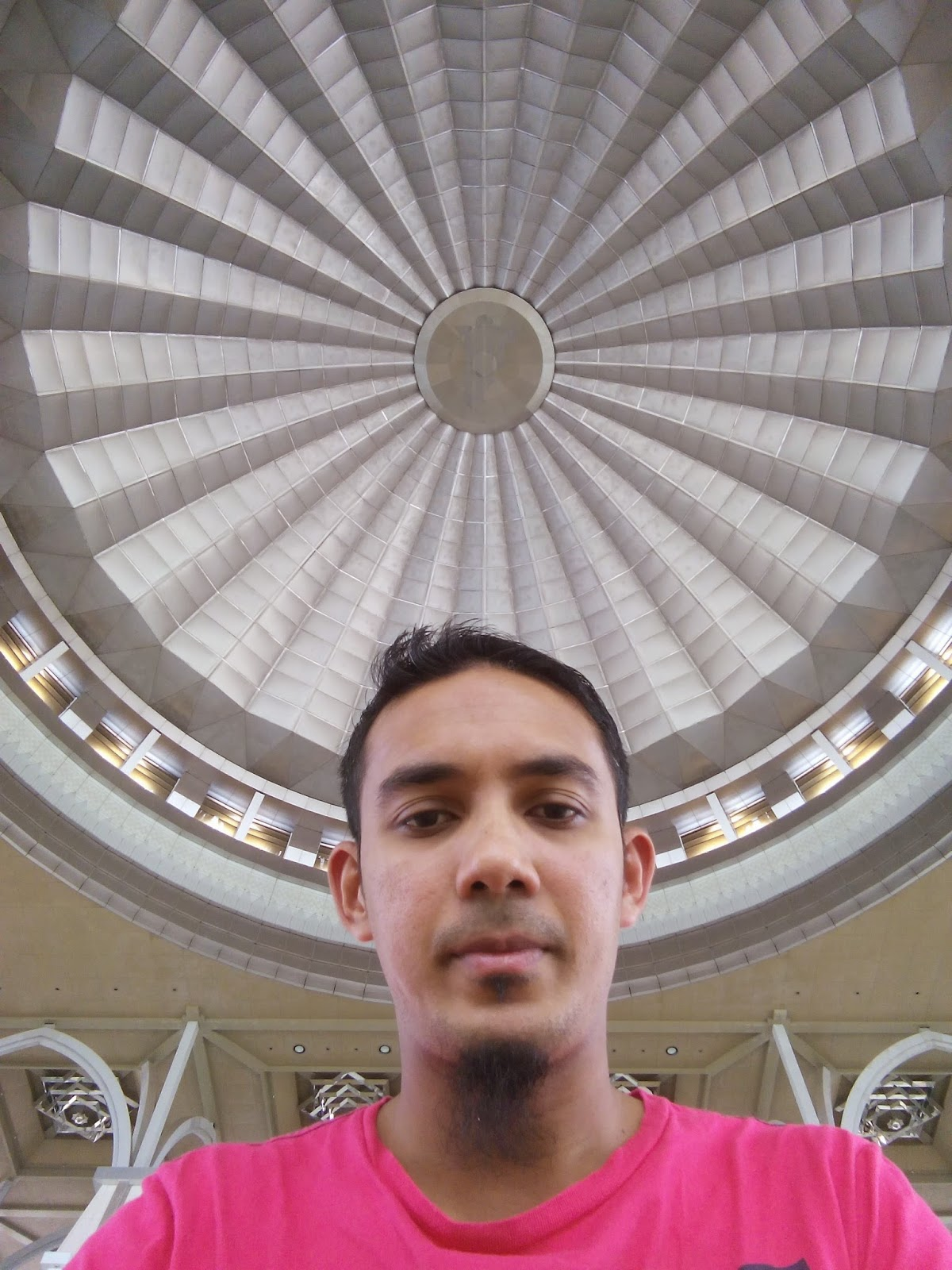 masjid besi, kubah cantik, gambar cantik, putrajaya, Selfie