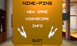 Screenshots of the Ninepin Bowling for Android tablet, phone.