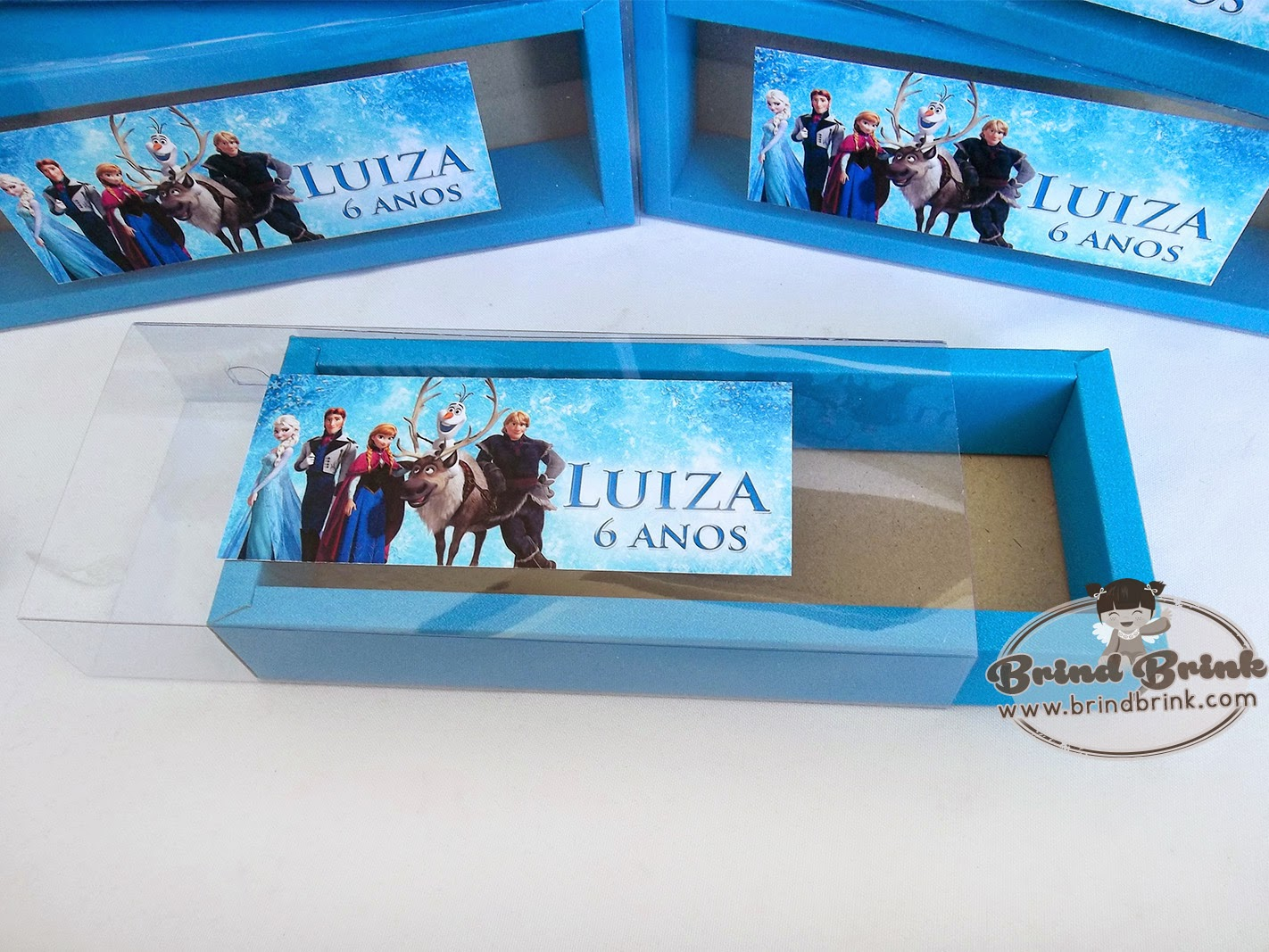 embalagem personalizada Frozen