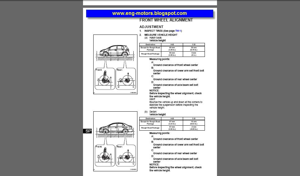 Toyota Yaris Repair Manual  U0635 U064a U0627 U0646 U0629  U062a U0648 U064a U0648 U062a U0627  U064a U0627 U0631 U064a U0633
