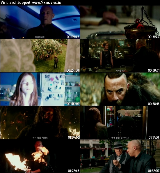 The Last Witch Hunter 2015 English 480p HC HDRip