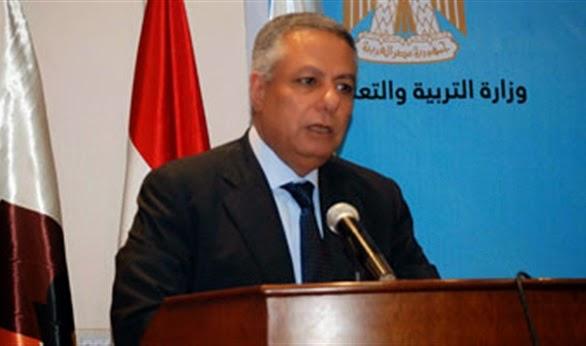 وزير التربية والتعليم يلتقى وفد المدرسة اليابانية بالقاهرة