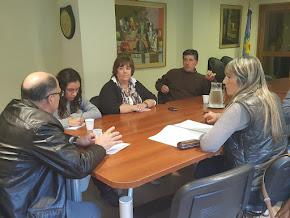 Planta Depuradora: Exhaustiva reunión técnica con funcionarios del ENOHSA