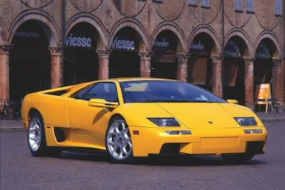 Lamborghini Diablo Yellow car wallpaper