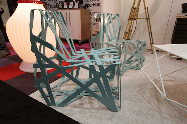 Dwell on Design 2013 Chairs J. Liston Design Ribbon Chair