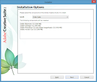 Windows 8. Free Adobe CS2 installation - Installation Options