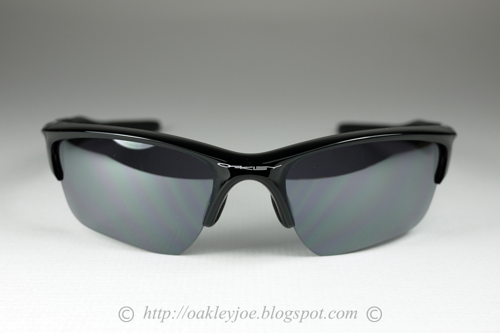 oakley half jacket jet black l black iridium polarized