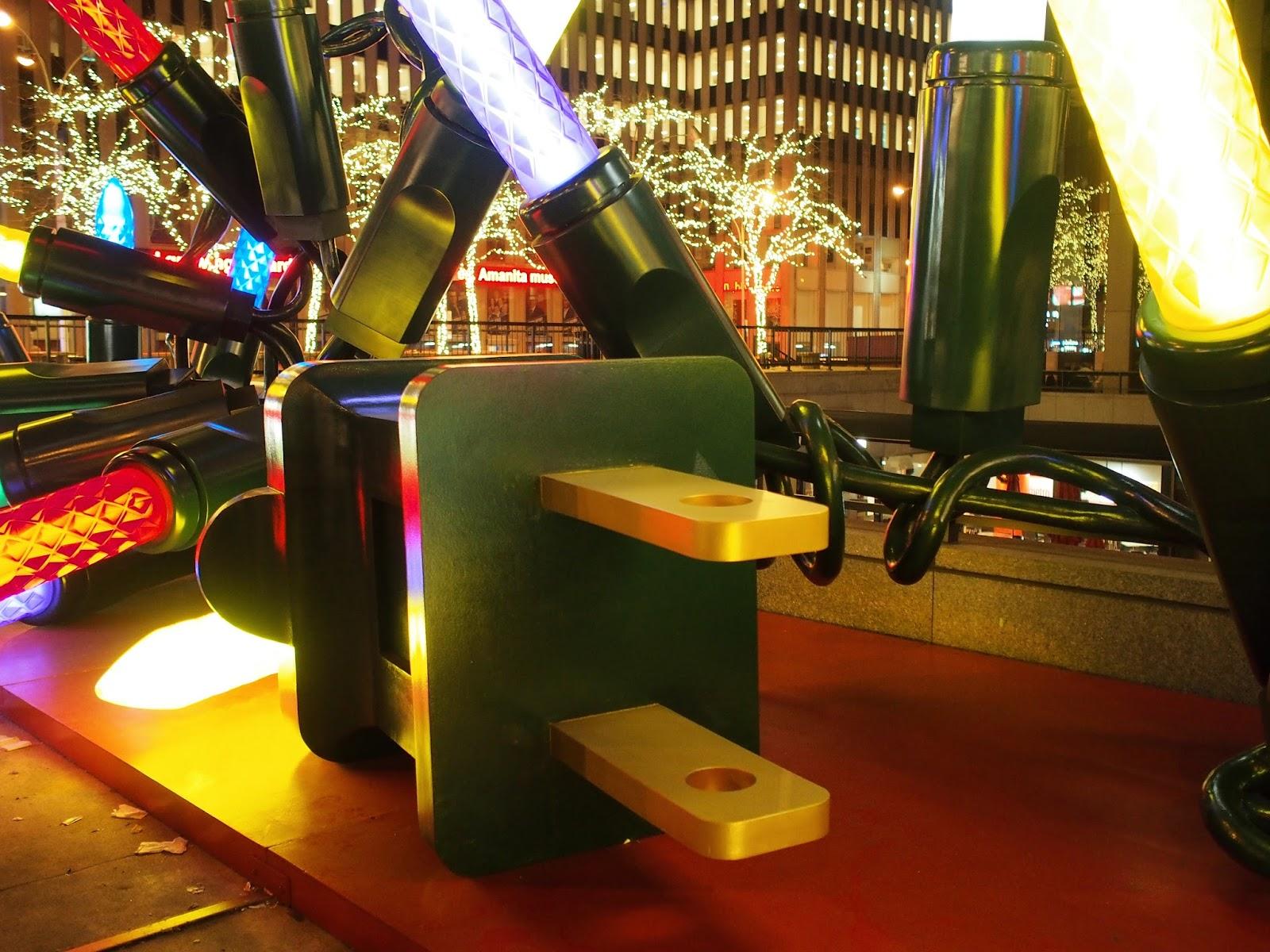 One Giant Plug #onegiantplug  #holidays #besttimeoftheyear #nyc ©2014 Nancy Lundebjerg