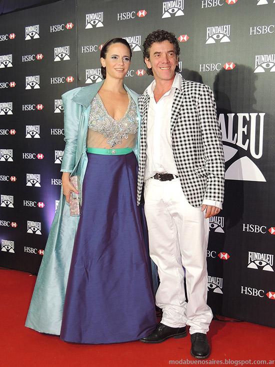 Looks famosos moda 2015 Gala Fundaleu.