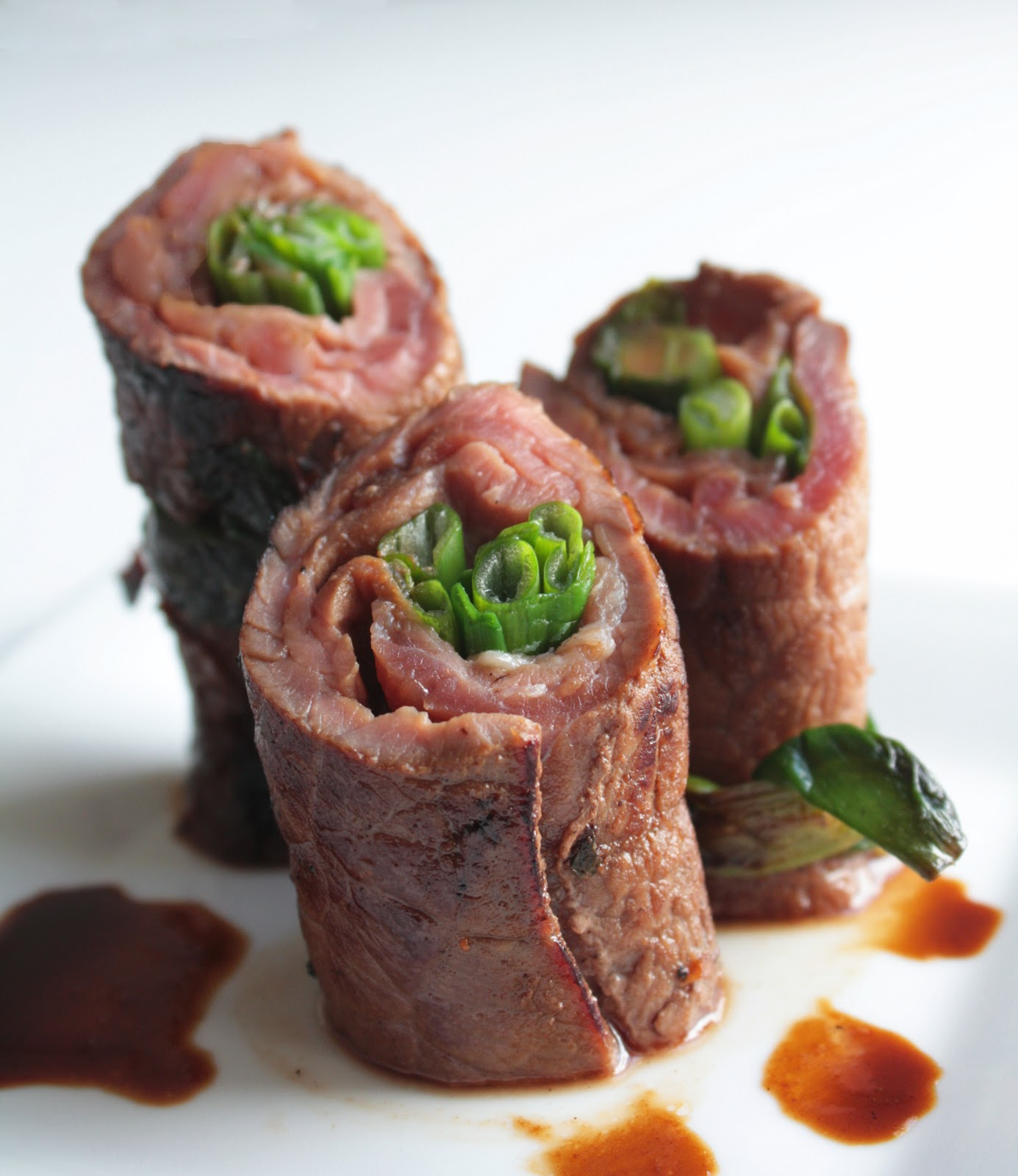 Beef Negimaki With Broccolini And Rice Recipes — Dishmaps