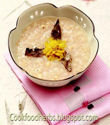 Picea jezoensis porridge