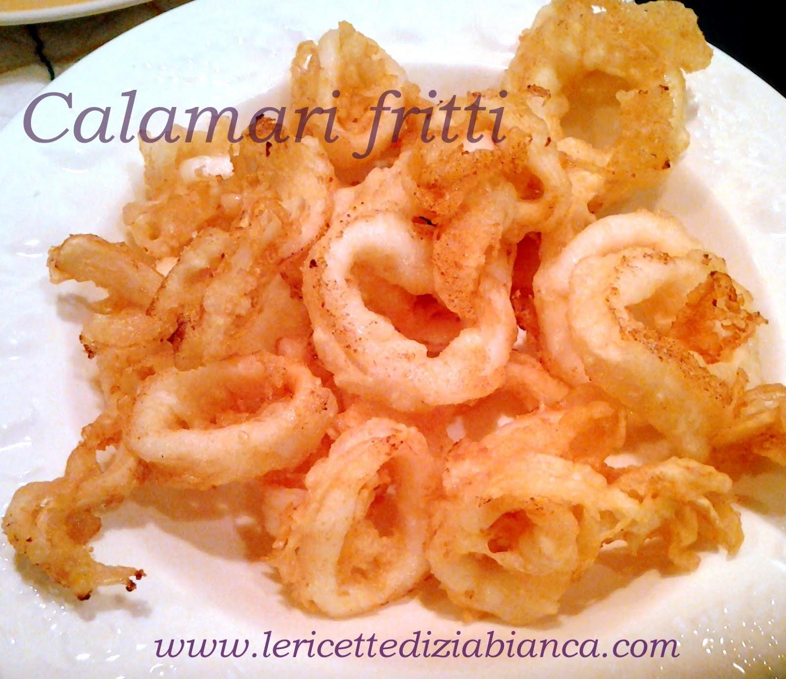 calamari fritti... in pastella