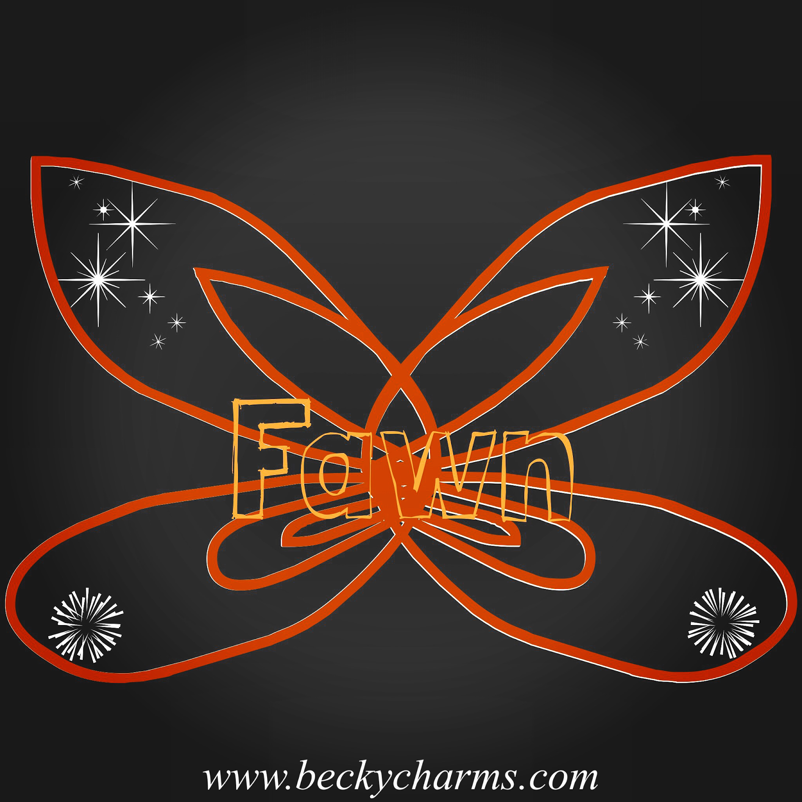 Disney Fairy Wings Fawn Graphic Art Recreate by BeckyCharms
