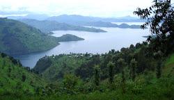 Landscape in Northern Rwanda