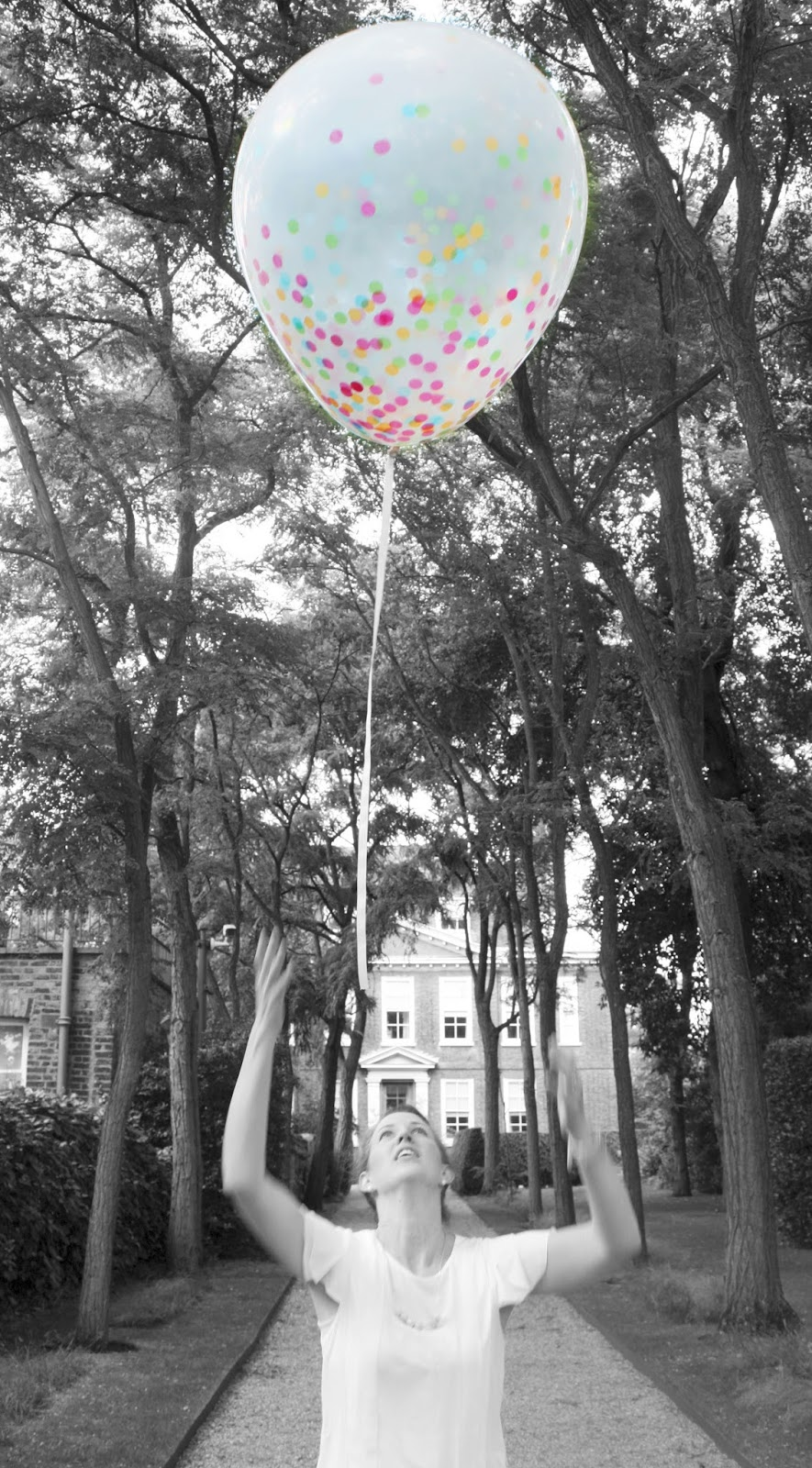 meg-made giant confetti balloon giant confetti filled balloon