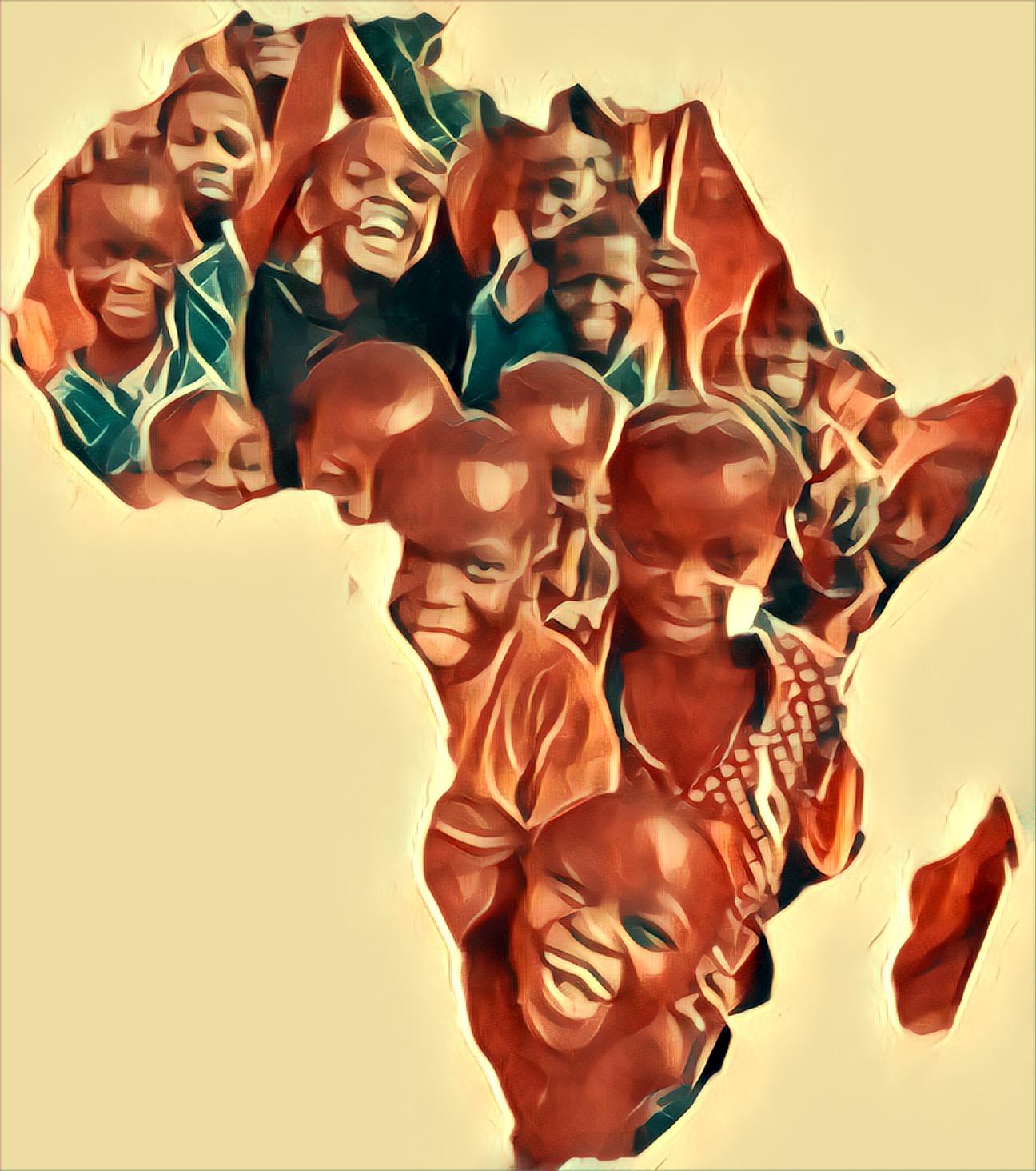 Encontro Com as Crianças Africanas