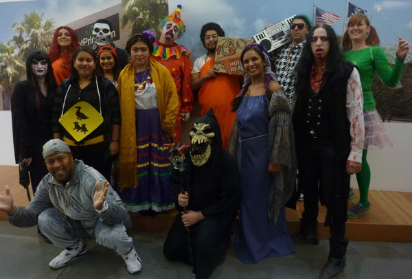 GotPrint employees group picture of Halloween costumes 2013