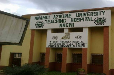 Nnamdi Azikiwe University Teaching Hospital, Nnewi is Recruiting for Graduate Internship Jobs