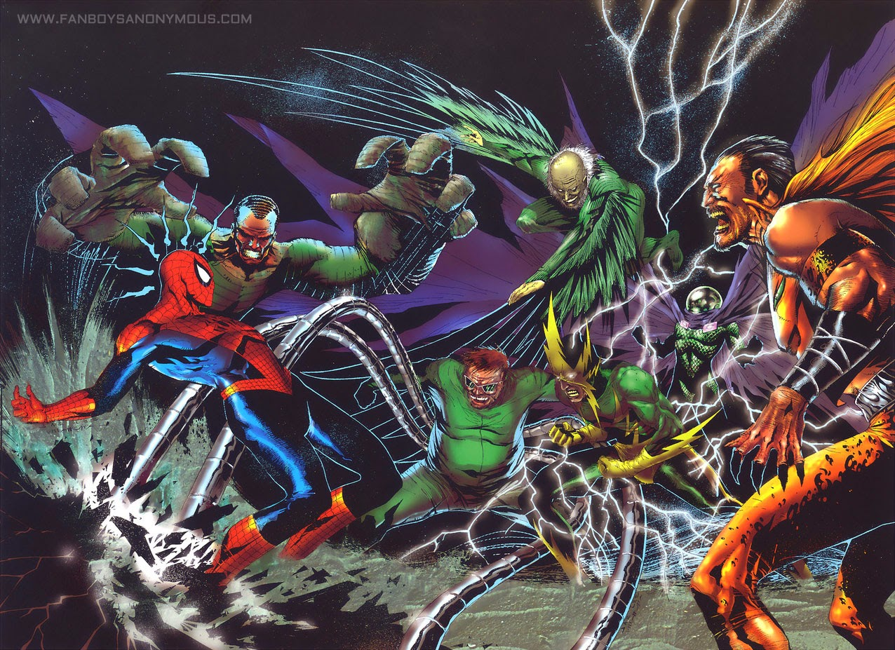 Spider-Man enemies Sinister Six movie villains characters
