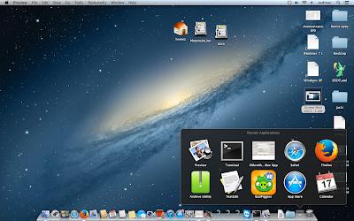 Menambahkan Recent Application Stack pada DockBar OSX