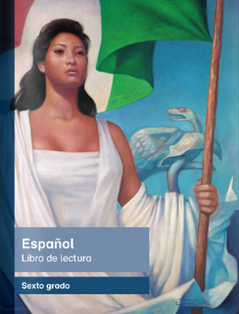 Libro de texto de Español Lecturas de Sexto Grado