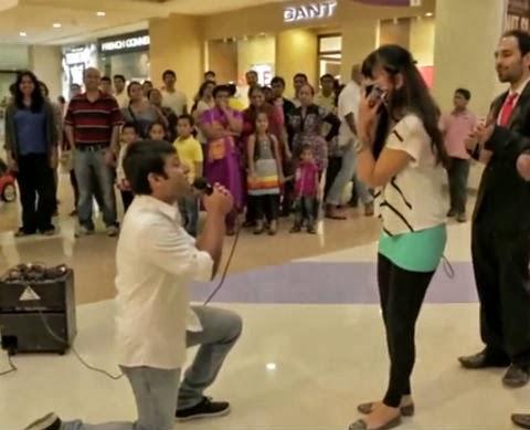في دبي: فتاة تضرب صديقها بعد طلبه الزواج منها
