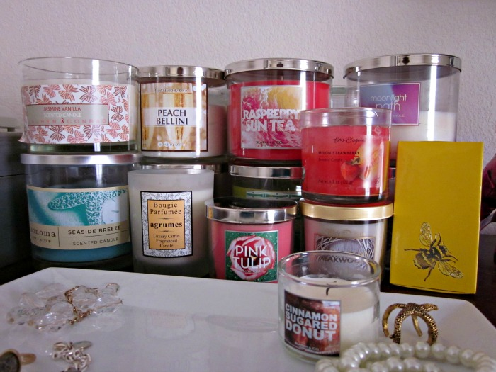 gorgeous candle collection