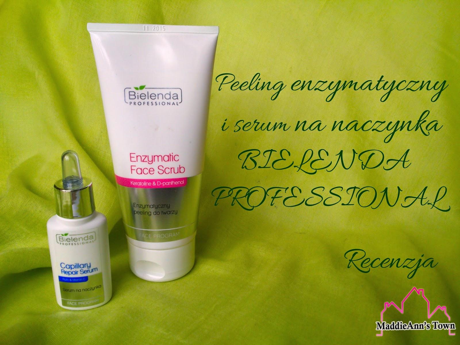 Bielenda professional - Peeling Enzymatyczny I Serum Na Naczynka Bielenda Professional Recenzja