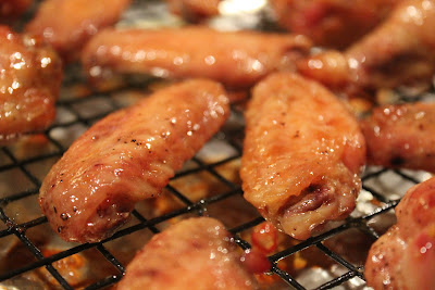 Return pan to oven and cook wings for 8 to 10 minutes longer until