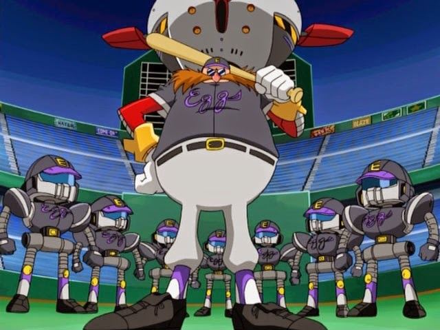 Baseball Eggman