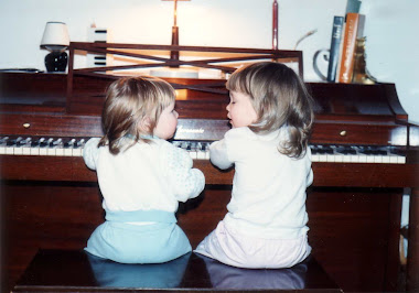 Christiana and Elisabeth at the Piano