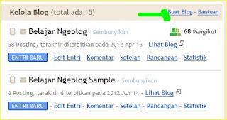 Membuat blog baru di blogspot dengan satu akun gmail yang sama