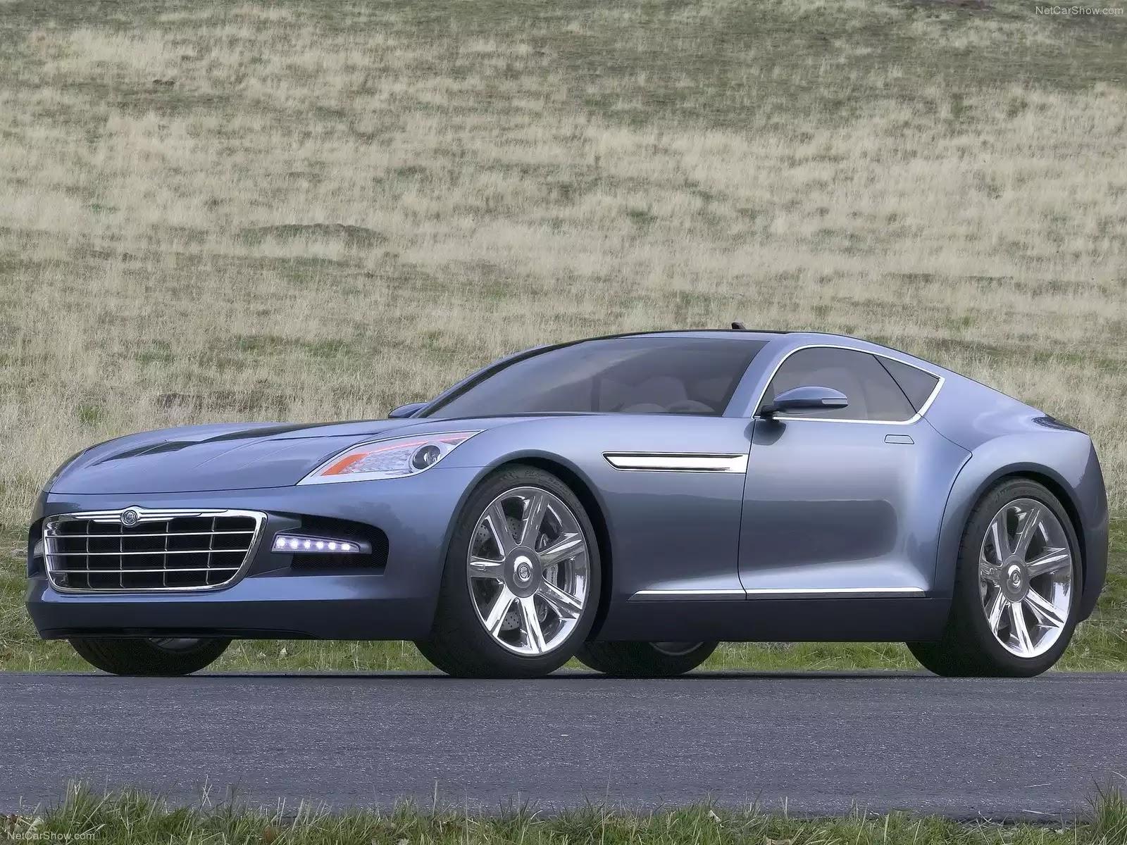 Hình ảnh xe ô tô Chrysler Firepower Concept 2005 & nội ngoại thất