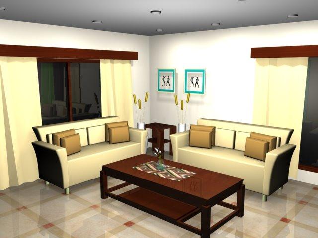 LIVING ROOM ARRANGEMENT IN ACCORDANCE FENG SHUI