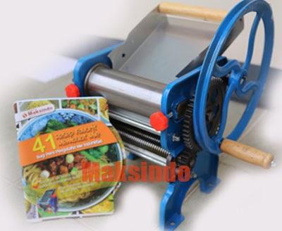 harga mesin cetak mie manual