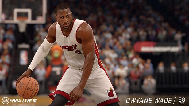 NBA Live 16 Dwyane Wade rating