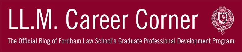 LL.M. Career Corner