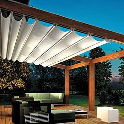 pergola beschattung terrasse. Black Bedroom Furniture Sets. Home Design Ideas