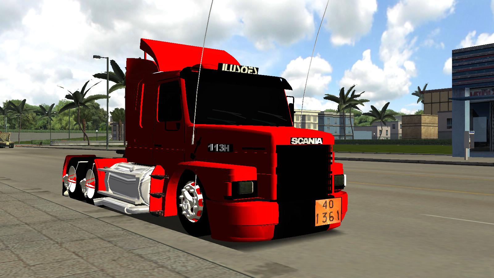 Scania 113 Top Line  Haulin   ALH