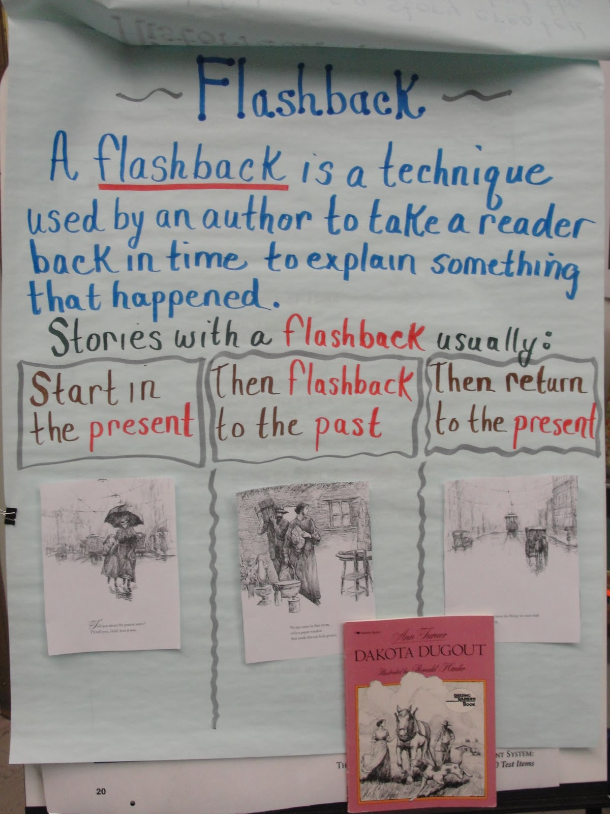 Reading Is Thinking Teaching about flashbacks – Flashback Worksheet