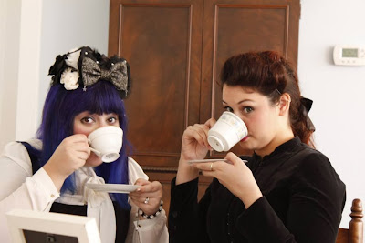 tea time for the CT lolitas!