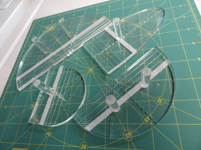 Ruler Templates For Quilting : Cotton Cellar: Tasting Table Tuesday - Free Motion Quilting Rulers for Domestic Machines