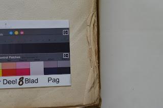Papierschade t.g.v. omgezette randen