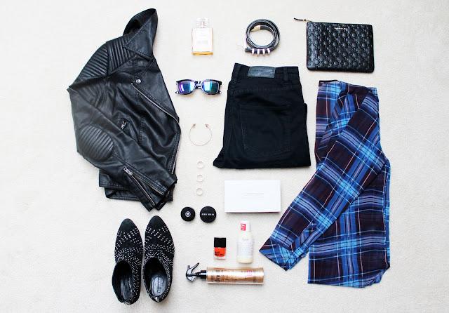 fashion flatlay